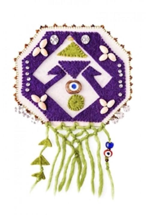 Felt Amulet