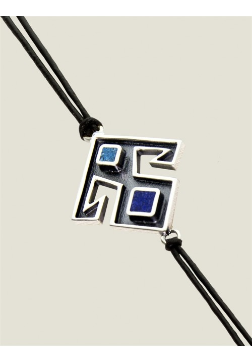 Lapis-Turquoise Bracelet