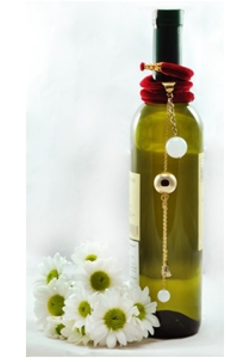 Velvet Bottle Ornament